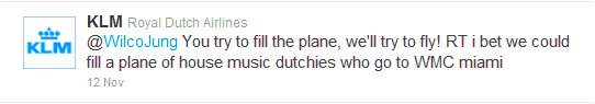 KLM Story on Tweet That Filled A Plane